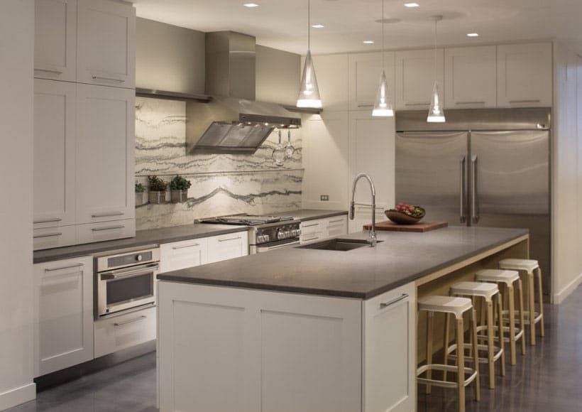 Most popular flooring for kitchens and bathrooms